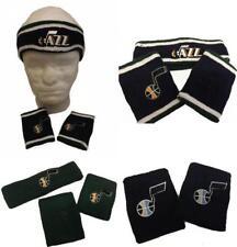 New Utah Jazz Licensed Mens OSFA Wrist Sweat Head Band 2 or 3-Piece Set 81f61f911