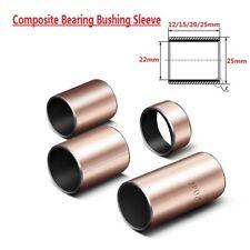 5pcs SF-1 Self Lubricating Composite Bearing Bushing Sleeve 22x25x12/15/20/25mm