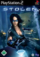 Stolen-Sony PlayStation 2 ps2-sólo CD con manual de instrucciones