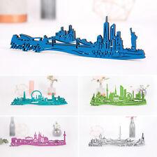 KLEINLAUT 3D-Skyline aus Holz 32 Farben Wien London NY Geschenk Geburtstag M