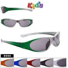 Unisex Childrens Kids Youth Fashion Sport Style 9050 Sunglasses w/ Spider Webs
