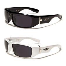New Khan Rectangle Men's Solid Plastic Fashion Sunglasses