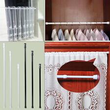 Extendable Adjustable Spring Tension Rod Pole Curtain Shower Bathroom Window