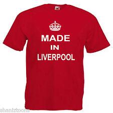 Made Born In Liverpool Birthday Children's Kids T Shirt