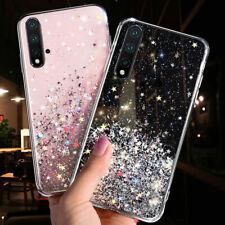 For Huawei Nova 5T 5i 6 SE Shockproof Glitter Star Gel Phone Case Soft TPU Cover
