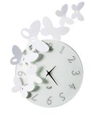 ARTI E MESTIERI orologio da parete BUTTERFLY TONDO in metallo e vetro