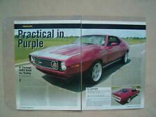 1972 AMERICAN MOTORS JAVELIN AMX  -- HOT ROD AMC --