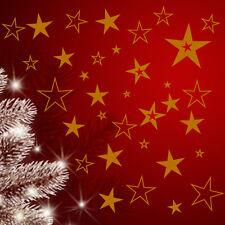 80 Sterne Fensteraufkleber Fensterbilder Weihnachten ,Wandtattoo,Aufkleber