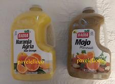 Badia Sour Orange Naranja Agria Mojo Marinade 1 GALLON EACH
