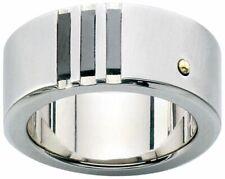 Dolan Bullock SANTIAGO Titanium & sst  18k gold  ring nrg12500B msrp $250