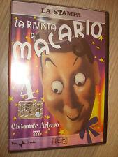 DVD N° 4  LA RIVISTA DI MACARIO CHIAMATE ARTURO 777  RAI TRADE