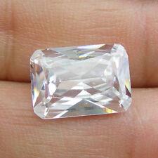 Rectangular Emerald Cut Cubic Zirconia Loose Gemstone, 10x8mm, 12x10mm, 14x10mm