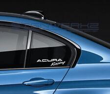 Acura Racing Decal Sticker logo JDM VTEC RSX TSX TLX MDX RDX NSX Type S Pair