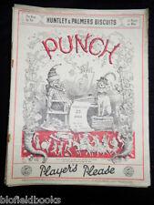 Punch Magazine: Vintage Satirical-WWII Era-February 23rd 1944-Cartoons/Wartime