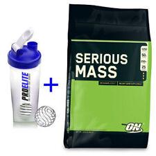 Optimum Nutrition ON Serious Mass Weight Gainer Gain Mass 5.4kg + FREE SHAKER