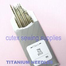 10 Organ Titanium 7X3 794 Dyx3 Industrial Sewing Machine Needles