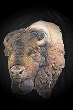 Bison,3D,Native ,T-Shirt,Übergröße,M-5XL,Plus Size,Country,Western