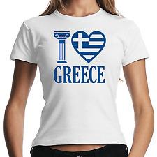 I Love Greece | Grecia | Greek | HELLAS | varoufakis | XS-XL Maglietta malvagia