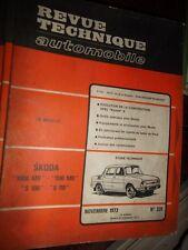 Skoda 1000 1100 MB S100 110 coupé : revue tech RTA 329
