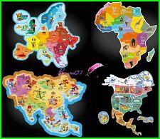 Magnet Brossard Savane Les Pays Afrique Asie Europe Amérique - Doigt Animaux
