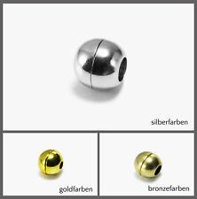 Magnetverschluss Ø 10/11/12 mm Kugel Magnet Verschluss Schmuckverschluss, MV-4