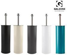 Galzone Toilet Brush and Metal Holder in Black/Grey/Sand/White/Blue