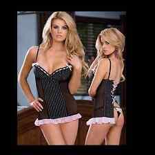 NEW black chemise babydoll lingerie size 3XL 4XL 5XL plus size