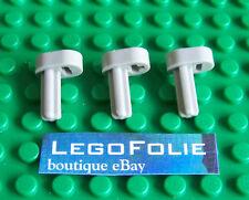 3 X  Lego Technic 2853  Engine Crankshaft Light Gray