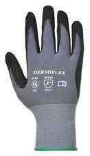 Portwest Dermiflex Work Gloves Protects Against Oil Garage Safety Workwear A350