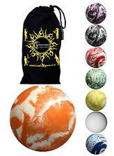 Oddballs Bounce Ball + sac de voyage! SUPERBE 90% rebond Rebondissant balles de jonglage