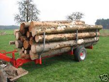 Holz- Rückewagen Bausatz mit Plan