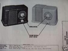 DEWALD B-401 RADIO PHOTOFACT