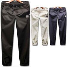 Men Tracksuit Bottoms Jogger Running Windbreaker Pants Sweatpants Trousers WM062