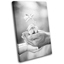 Grandfather Eco Floral  Love SINGLE LONA pared arte Foto impresion