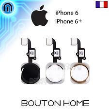 Bouton Home iPhone 6 iPhone 6+ Noir Blanc Or Doré Bouton Principal Menu Retour