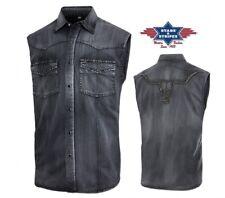 Chemises country western ref:ENZO short Stars&Stripes ***PROMO***