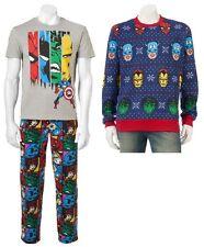 Marvel Avengers X-Men Fleece Pants T-Shirt Sweater - Men's S M L XL - New w/Tags