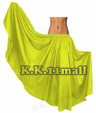 Satin Full circle Maxi Skirt For Women Belly Dancing Clothing Tribal  Costume