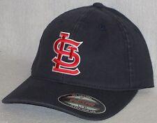 """St. Louis Cardinals """"FLEXFIT"""" CAP ✨CLASSIC MLB PATCH/LOGO ✨3 Sizes✨4 Colors ✨NEW"""