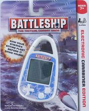 BATTLESHIP Handheld ELECTRONIC Game Clip-on Carabiner Mini Grid Ships Hasbro NEW