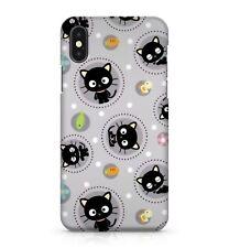 Black Baby Kitten Carrot Flower Fish Duck Polka Dot Pattern Phone Case Cover