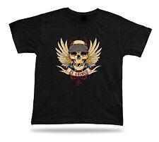 Tshirt Tee Shirt Birthday Gift Idea El Gringo Gang Skull Wings Guns Emblam Hard