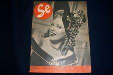 1947 OCTOBER 23 SE SWEDISH NEWSPAPER - LINDA DARNELL COVER - NICE PHOTOS- NP 928
