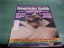 AUGUST 1973 AMERICAN HOME MAGAZINE MAKE IT DO IT IDEAS