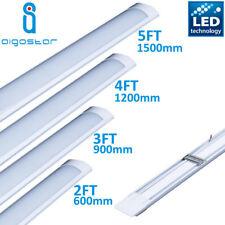 Bright LED Wide Tube Ceiling Strip Light Fitting 860 Cool White 2ft 3ft 4ft 5ft