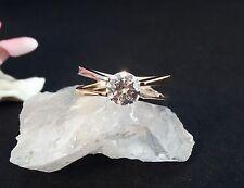 Ring Silber 925  mit Zirkonia  Größe 63 TeilVergoldet