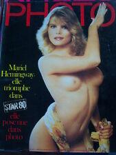 PHOTO MAGAZINE 1984 No 197 MARIEL HEMINGWAY BILL BRANDT PAYSAGES FOUS AMERICAIN