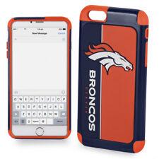Official NFL Dual ShockProof Cover Case for Apple iPhone - Denver Broncos