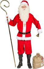 Père Noël costume de Père Noel 9-teilig NEUF - homme carnaval déguisement