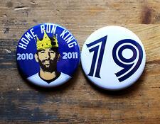 JOSE BAUTISTA BUTTONS homerun king toronto blue jays bat flip joey bats 416